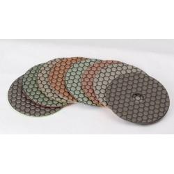 Disque Velcro Polissant à Sec Céramique Low Cost